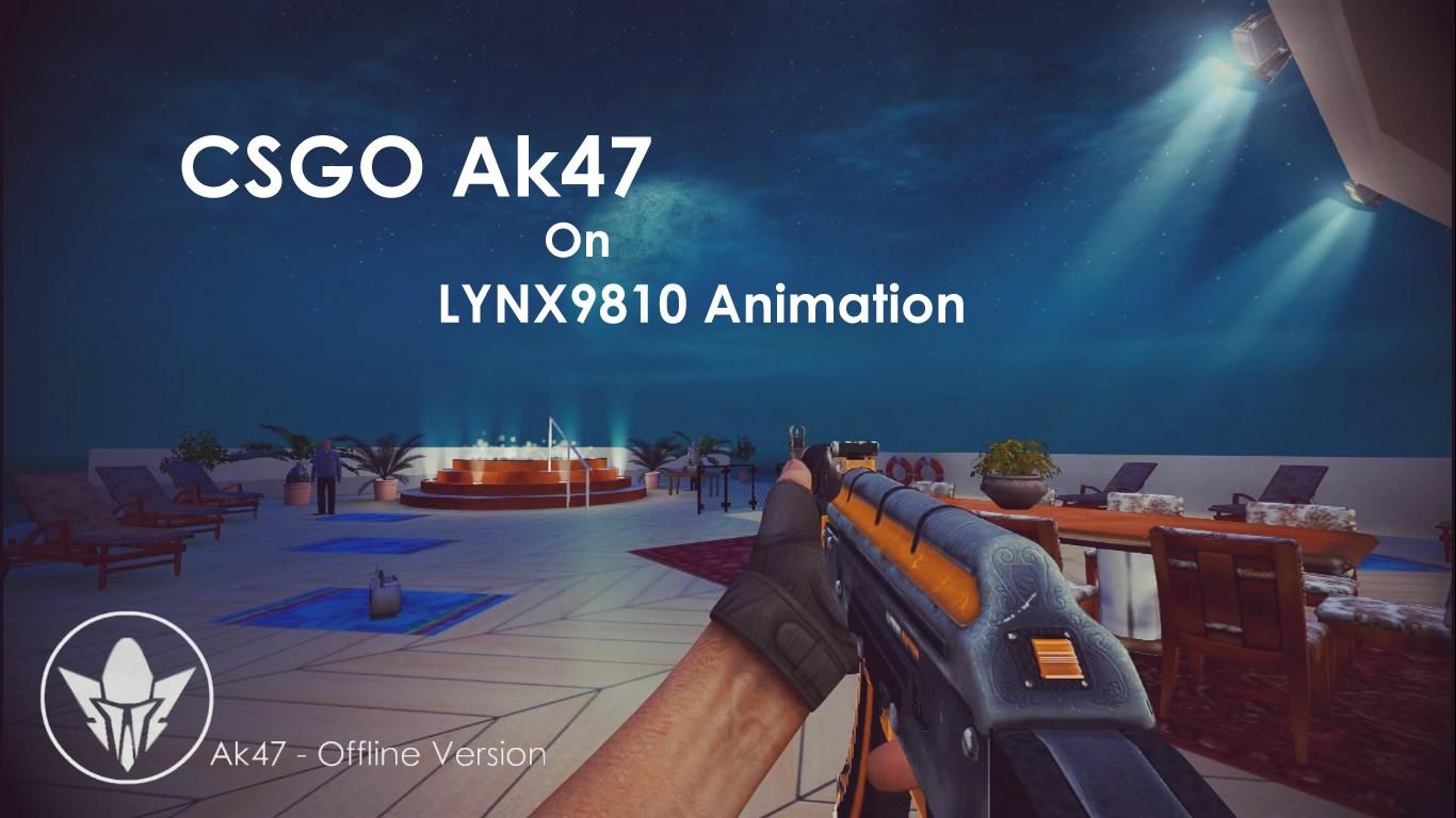 دانلود اسکین کلاش CSGO Ak47 Carbon Edition برای کانتر سورس