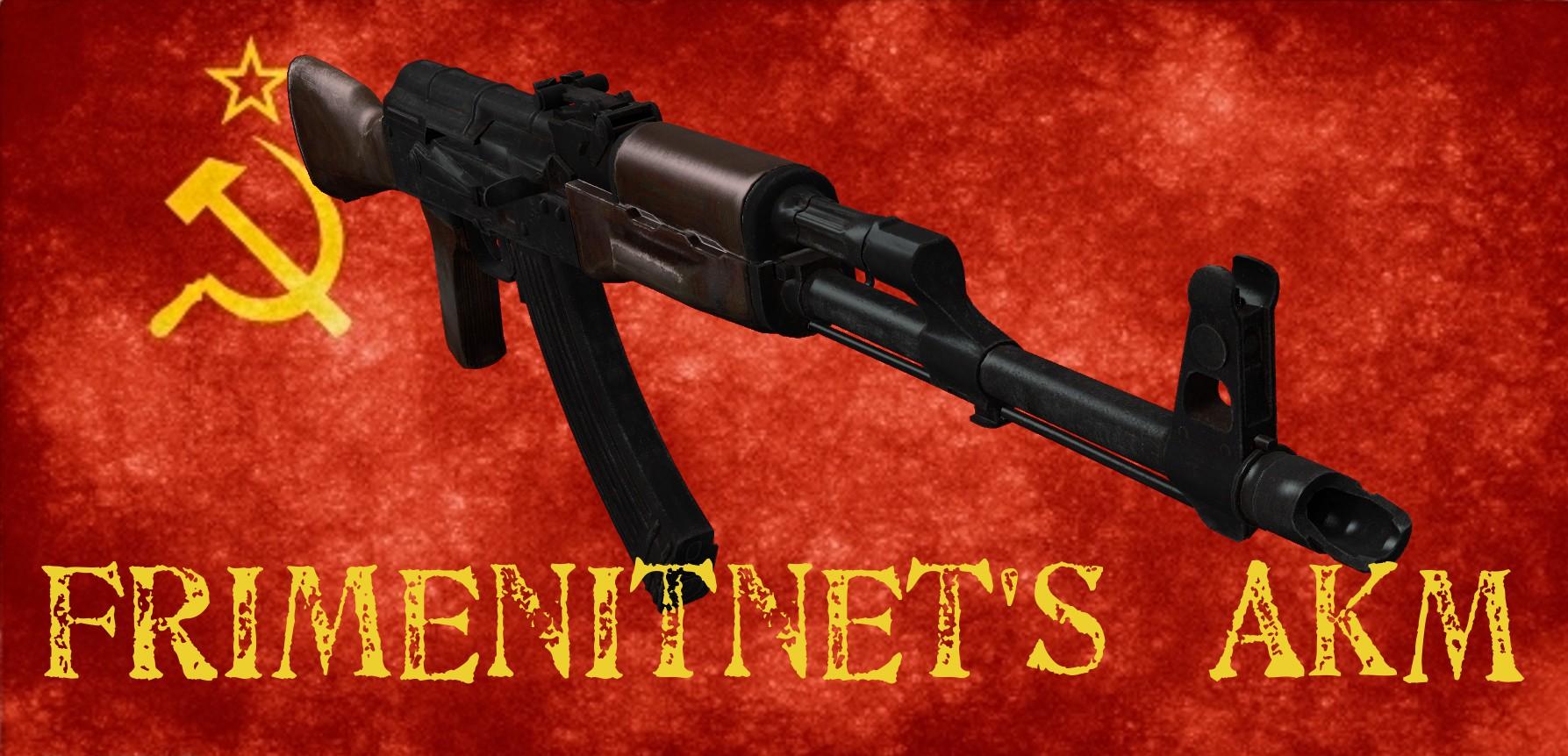 دانلود اسکین کلاش Frimenitnet's AKM برای کانتر سورس
