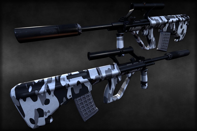 دانلود اسکین اوگ Call of Duty: Black Ops skin AUG برای کانتر سورس