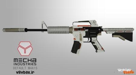 اسکین جدید اسلحه Default M4A1s Mecha Instrudes