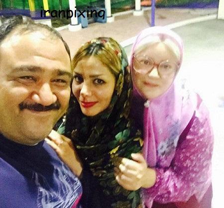 عکس جدید مهرام غفوریان و همسرش