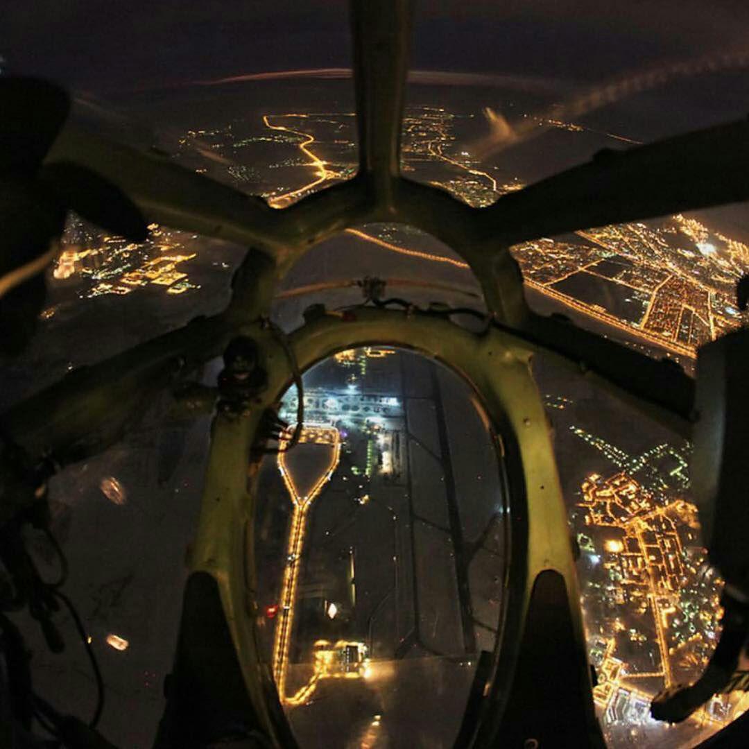 نمایی که خلبان بالگرد میبینه