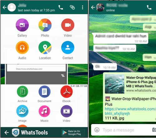 دانلود برنامه WaSend: WhatsApp Any File Send ارسال فایل با واتساپ اندروید