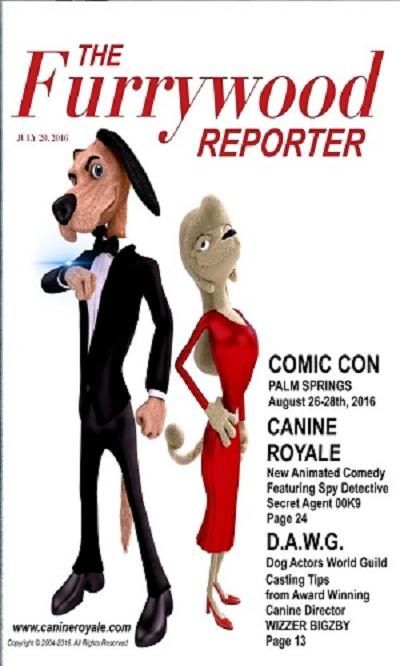 دانلود انیمیشن Canine Royale 2017