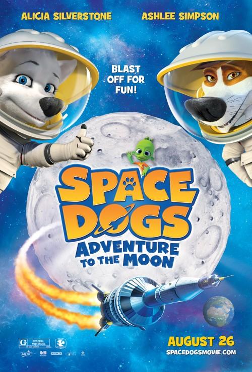 دانلود رایگان فیلم Space Dogs Adventure To The Moon 2016