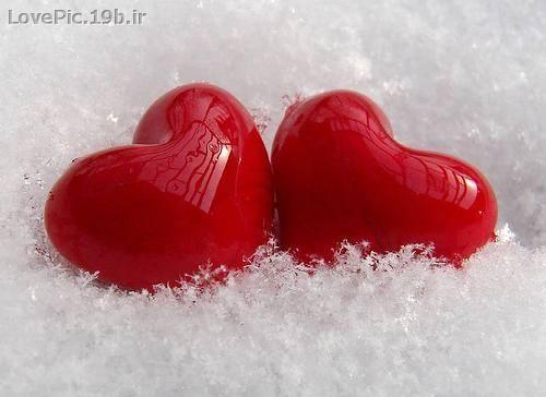 عكس عاشقانه قلب هاي عاشق