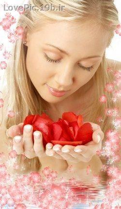 عکس عاشقانه گل