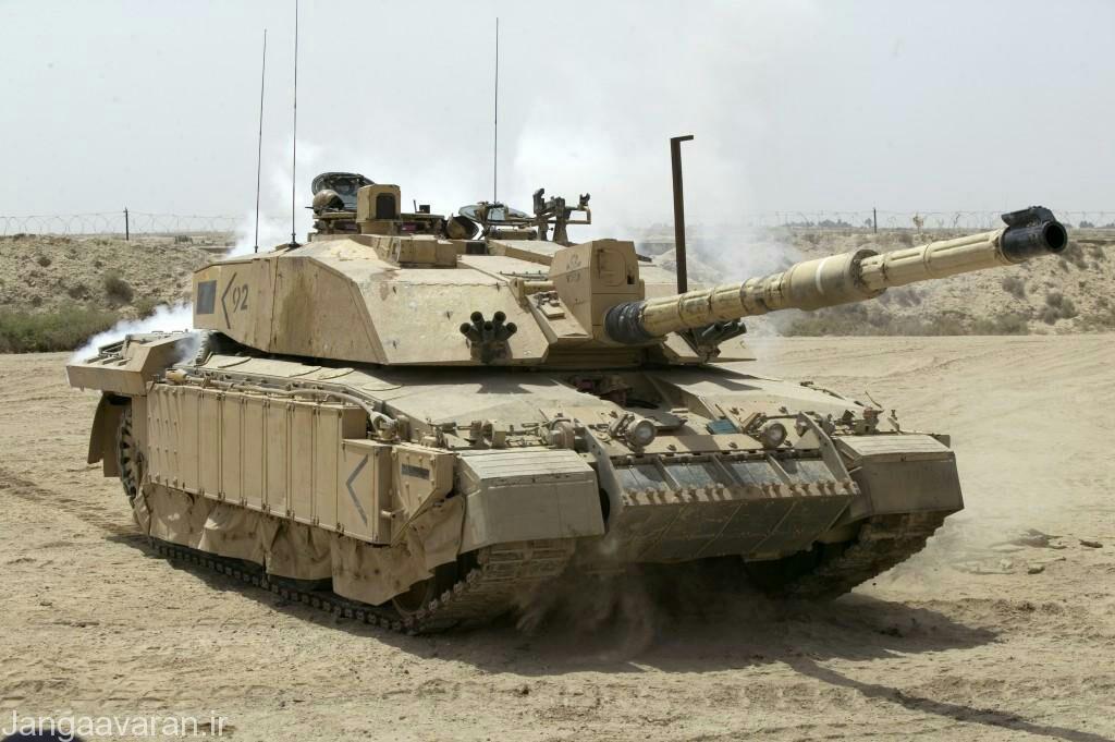تانک اصلی میدان نبرد انگلستان ؛ چلنجر 2
