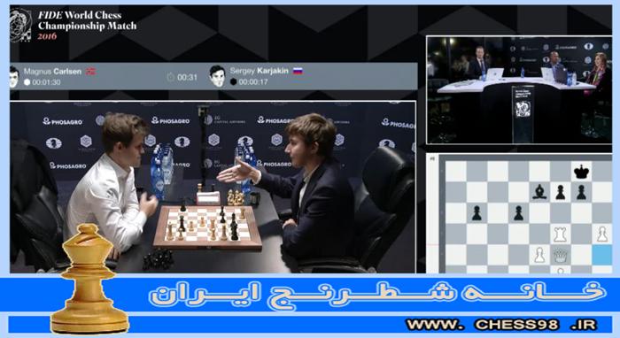 کارلسن ، نابغه نروژی شطرنج از عنوان قهرمانی خود دفاع کرد