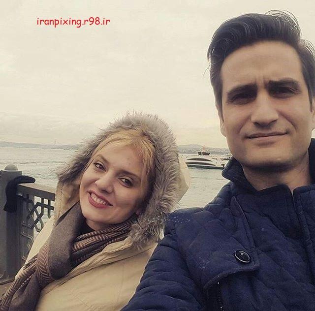 عکس های لورفته از پویا امینی و همسرش +18!!!