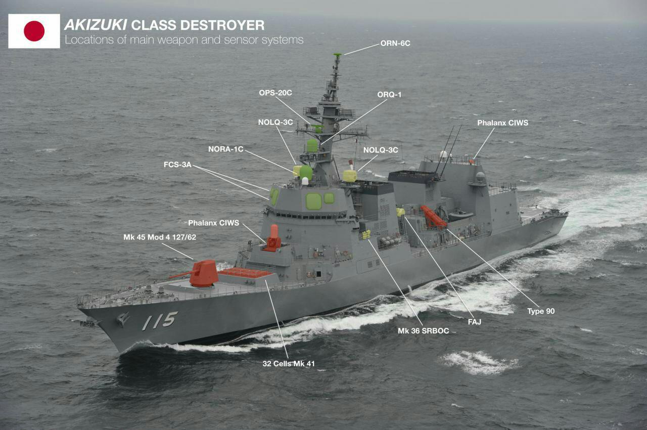 کلاس آکیزوکی نیرو دریایی ژاپن