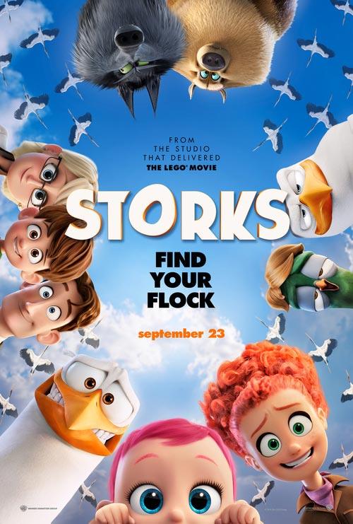دانلود رایگان فیلم Storks 2016