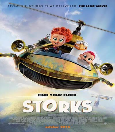 دانلود انیمیشن لک لک Storks 2016