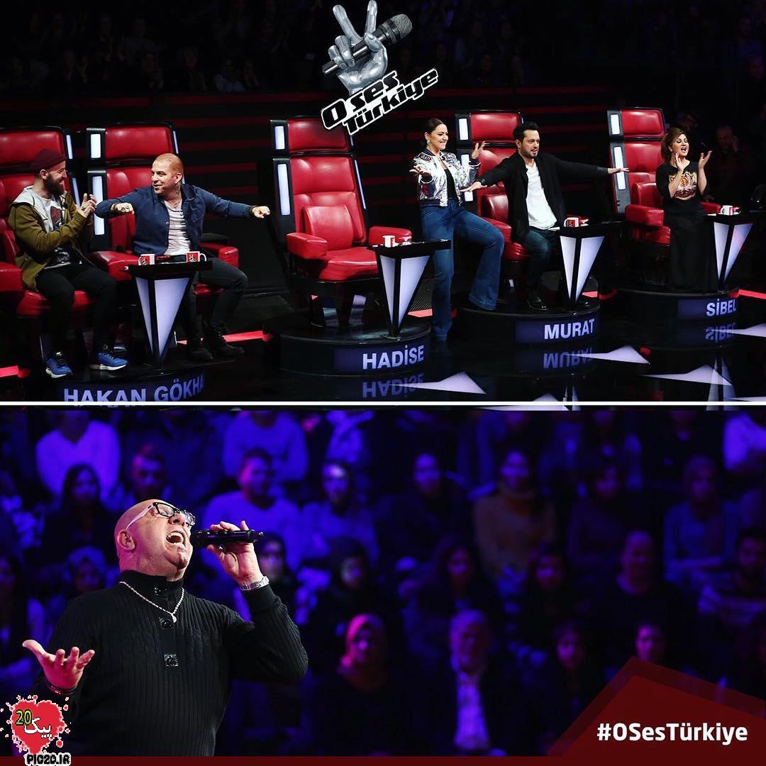 عکسهای فصل جدید مسابقه او سس ترکیه (o ses turkiye)