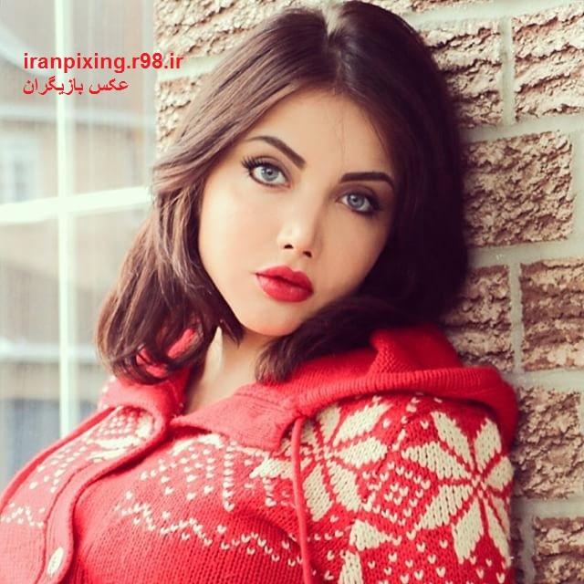 عکس های جذاب و لورفته از نهال سلطانی مدل زیبای ایرانی