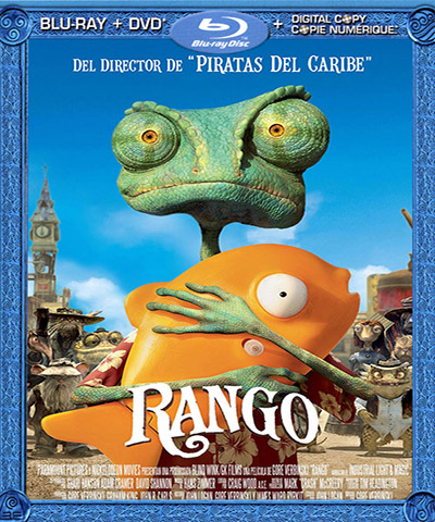 دانلود انیمیشن رنگو Rango Extended 2011 با دوبله فارسی