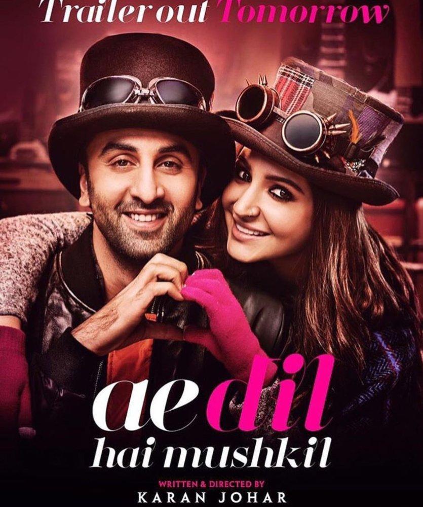 دانلود فیلم جدید و بی نظیر Ae Dil Hai Mushkil