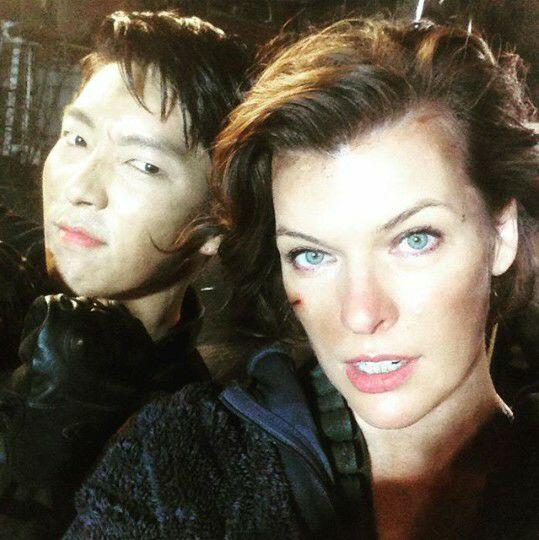 خانمMilla jovovich بازیگر فیلم 'Resident Evil' تو یکی از آخرین مصاحبه هاش حساااابی جونکی و مهارتهای اکشنش رو تحØ