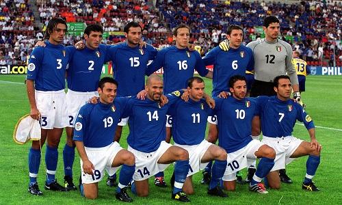 ترکیب تیم ایتالیا یورو 2000