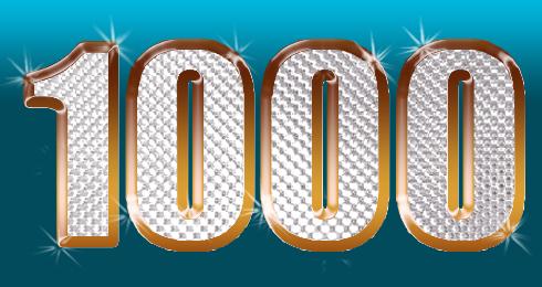 1000 کاربر شدن سایت تشکر از همراهی شما