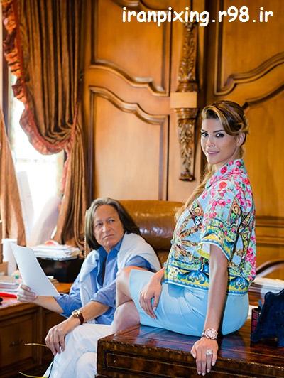 ازدواج شیوا صفایی مدل ایرانی!!با یک عرب ثروتمند