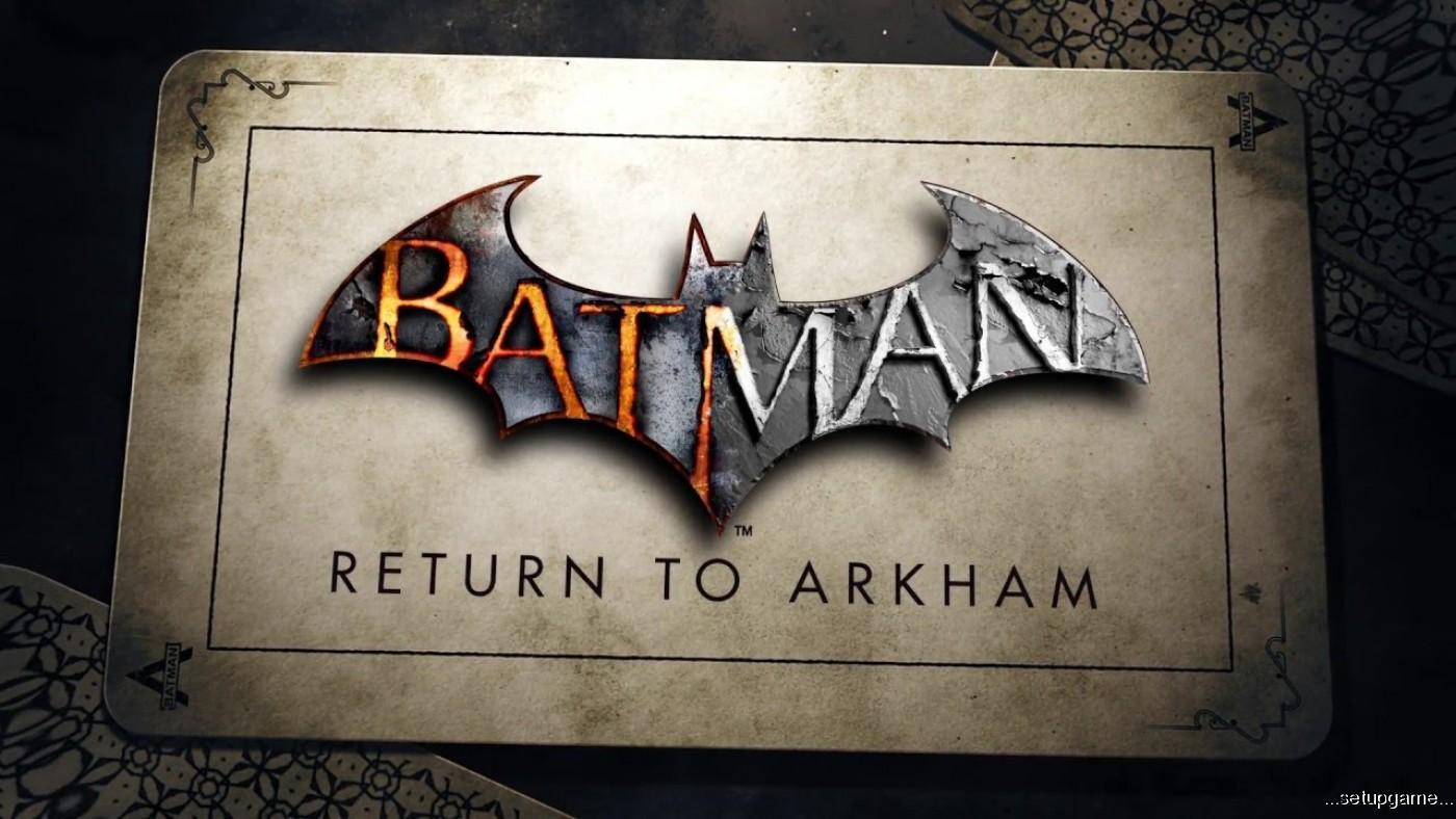 بروز رسانی بازی Batman: Return to Arkham برای پلی استیشن 4 پرو منتشر شد