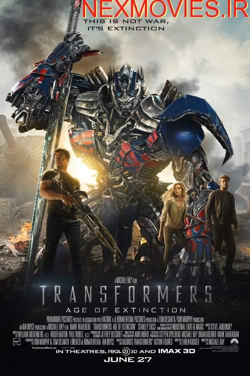 دانلود فیلم Transformers: Age of Extinction 2014 دوبله فارسی