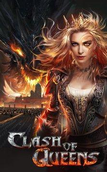 دانلود بازی اندروید جنگ بین کویین ها:افزایش اژدها Clash of Queens:Dragons Rise V 2.1.8+مود
