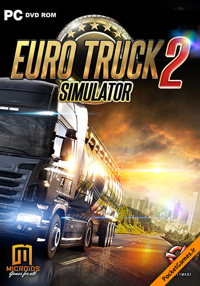 دانلود بازی Euro Truck Simulator 2 برای pc با سرعت بالا