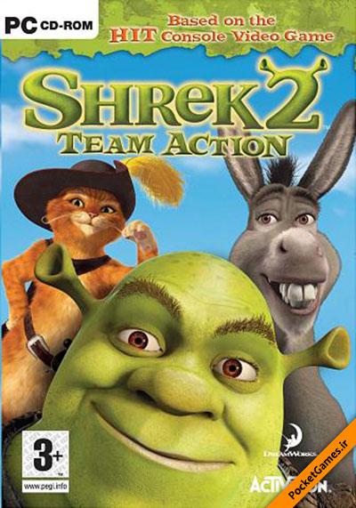 دانلود بازی Shrek 2 برای کامپیوتر با لینک مستقیم