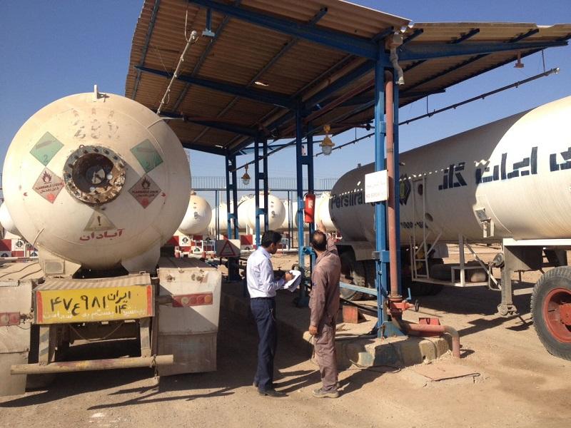 بازرسی نهایی جهت صدور پروانه استاندارد شرکت پرسی ایران گاز آبادان
