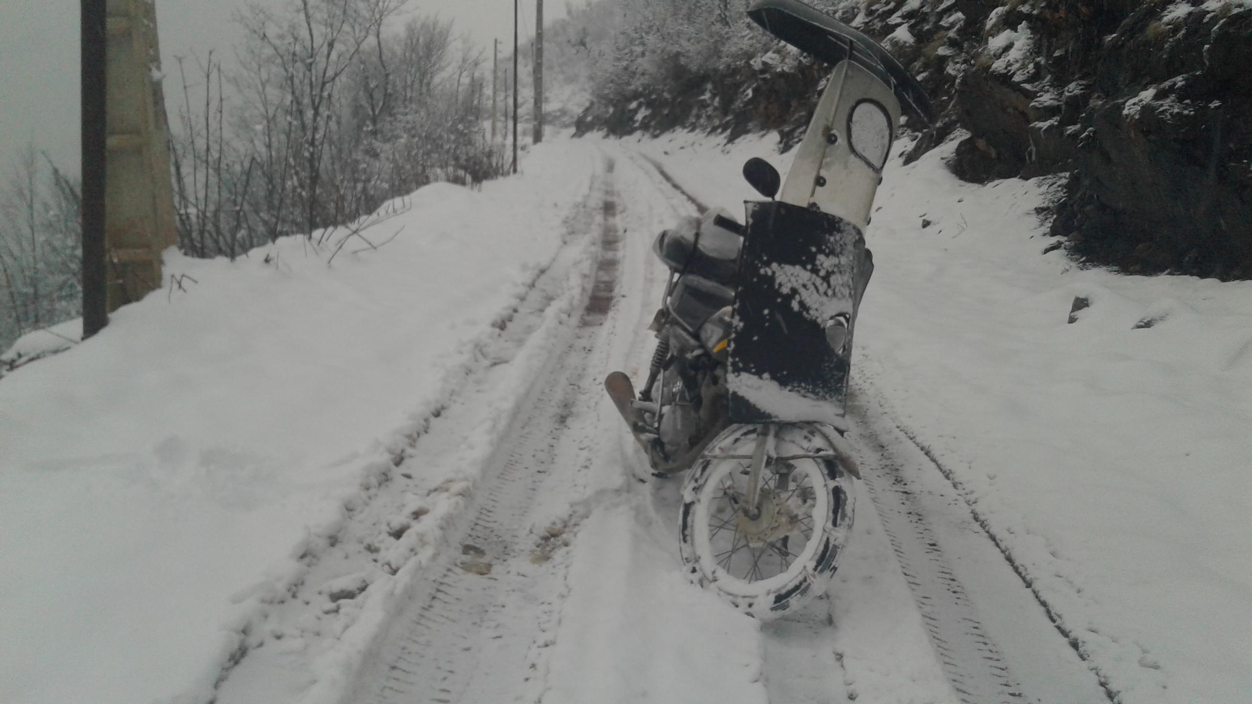 بارش برف در آخرین روزهای پاییزسال۱۳۹۵ یلدانزدیک است