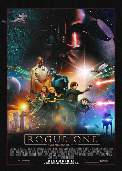 دانلود فیلمRogue One A Star Wars Story 2016 با لینک مستقیم