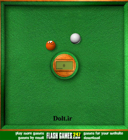 بازی آنلاین توپ نارنجی hit looser