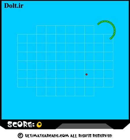 بازی آنلاین مار Snake