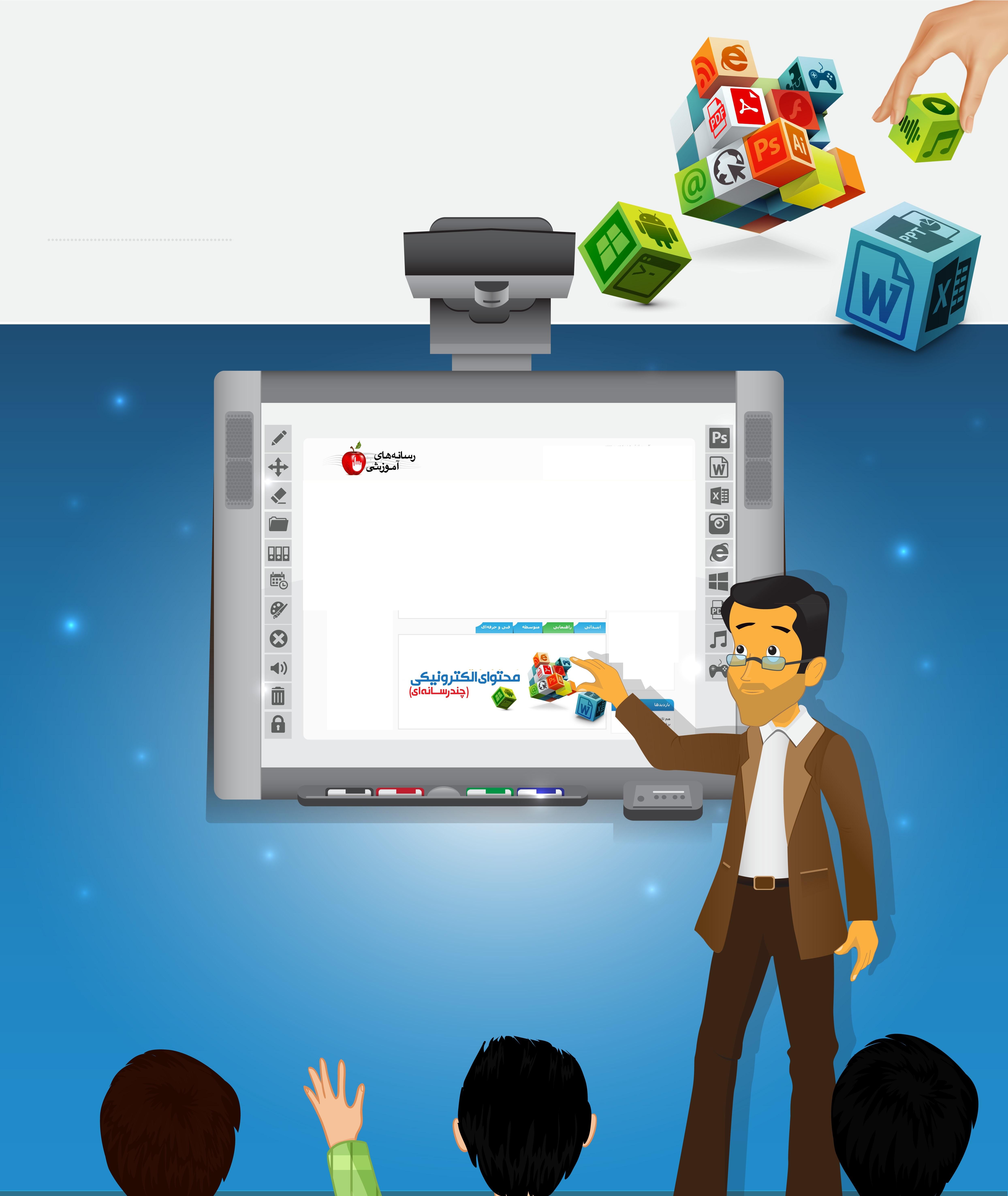 کانال کشوری ضمن خدمت و هوشمند سازی مدارس++++++کانال کشوری آموزش تولید محتوای الکترونیکی