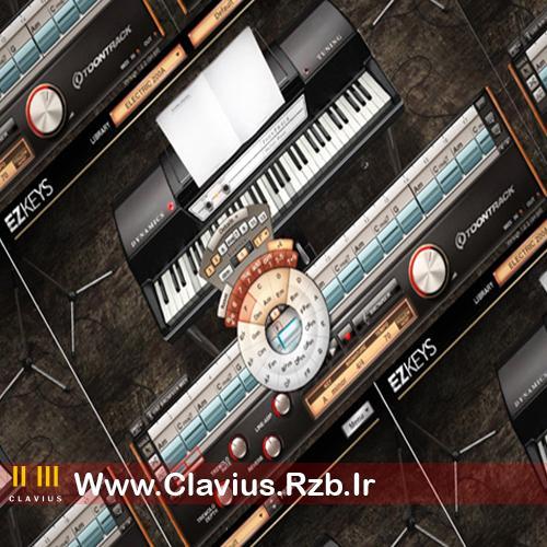 آموزش آهنگسازی با وی اس تی پیانو  EZKeys