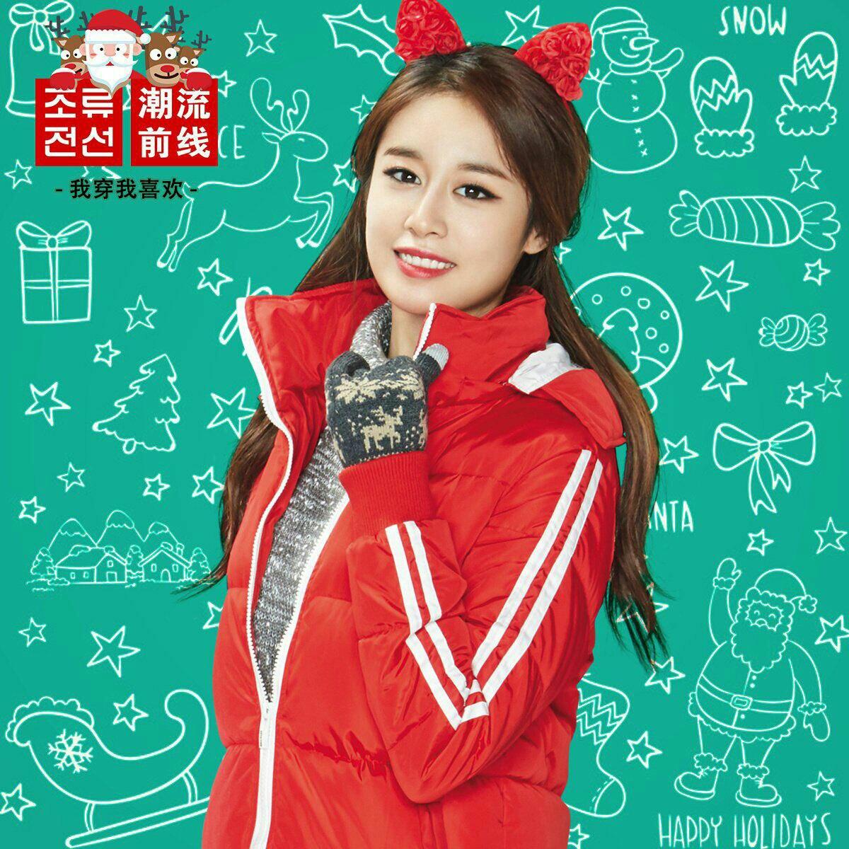 عکس های کریسمسیِ اعضای   T ara
