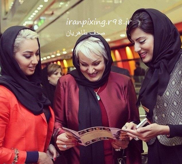 عکس های صدف طاهریان در ایران !! سری2