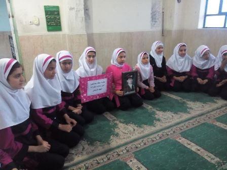 برگزاری حلقه صالحین واحد بسیج دانش آموزی شهید کریمی
