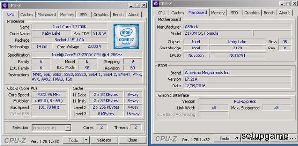 پردازنده Core i7-7700K اینتل 7 گیگاهرتز را درنوردید
