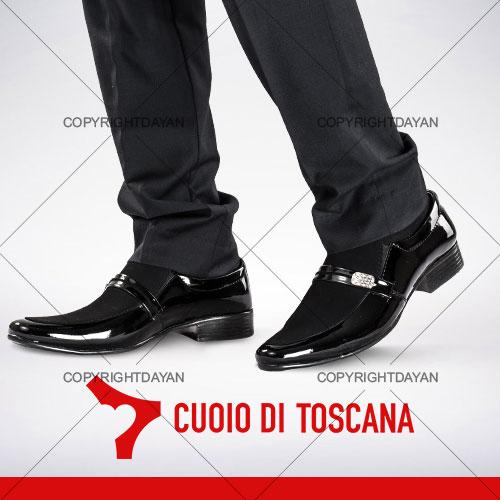 کفش ورنی Vero Cuoio مدل Artin