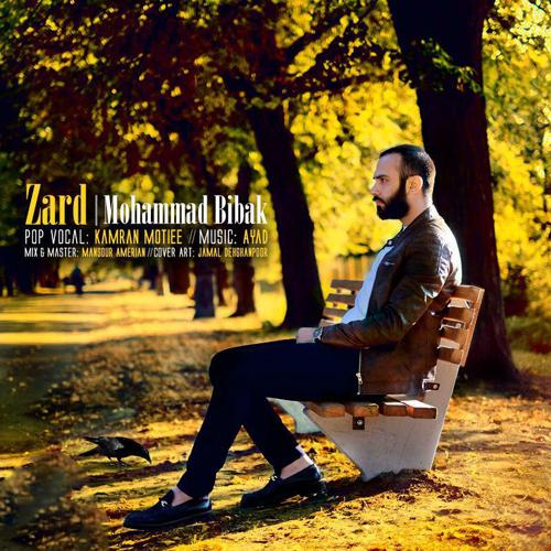 دانلود موزیک ویدیو جدید محمد بیباک به نام زرد