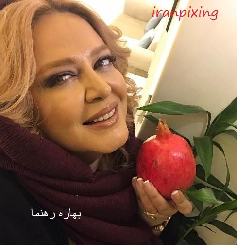 عکس بدحجاب بهاره رهنما که بهرام رادان منتشر کرد!