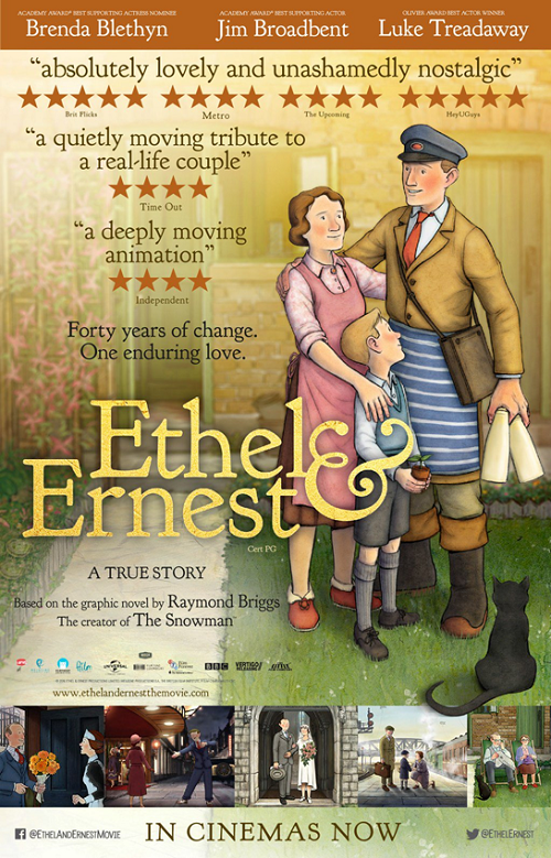دانلود رایگان فیلم Ethel And Ernest 2016