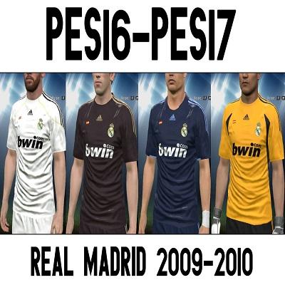 کیت فصل 2009 رئال مادرید