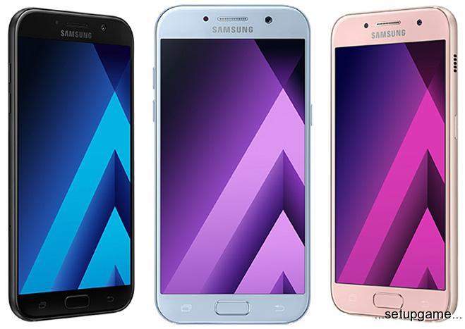 گوشیهای سامسونگ سری Galaxy A 2017 رسماً معرفی شدند؛ ضدآبهایی با طعم مارشملو