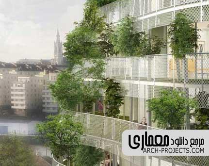 گیاه در معماری