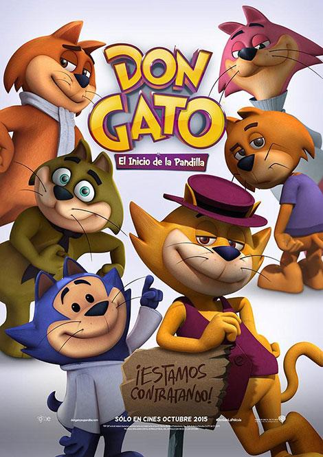 دانلود انیمیشن داش پیشی و بروبچ Top Cat Begins 2015