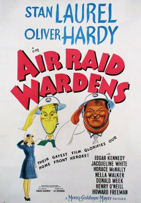 دانلود دوبله فارسی فیلم Air Raid Wardens 1943